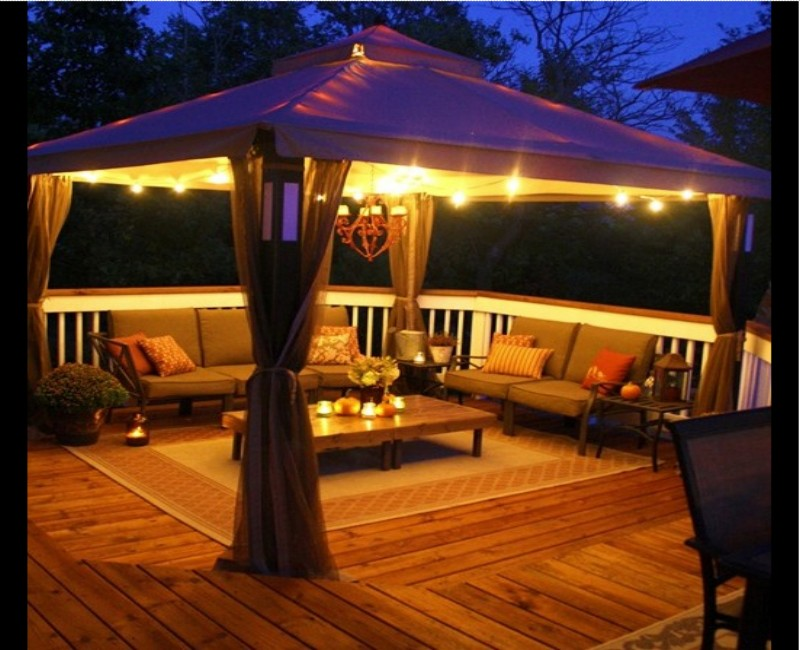 Fabric Gazebo Cover Ideas 3