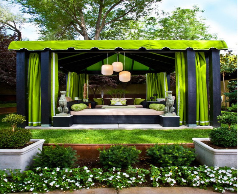 Fabric Gazebo Cover Ideas 4