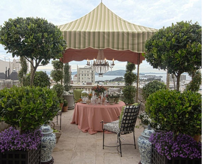 Fabric Gazebo Cover Ideas 6