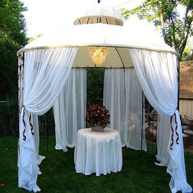 Gazebo Decor Ideas 2