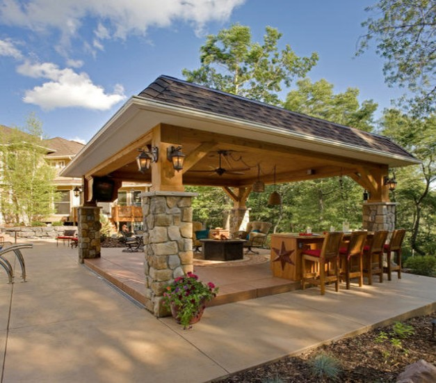 How To Decorate A Patio Deck Patio Gazebos Hgtv 20 Best