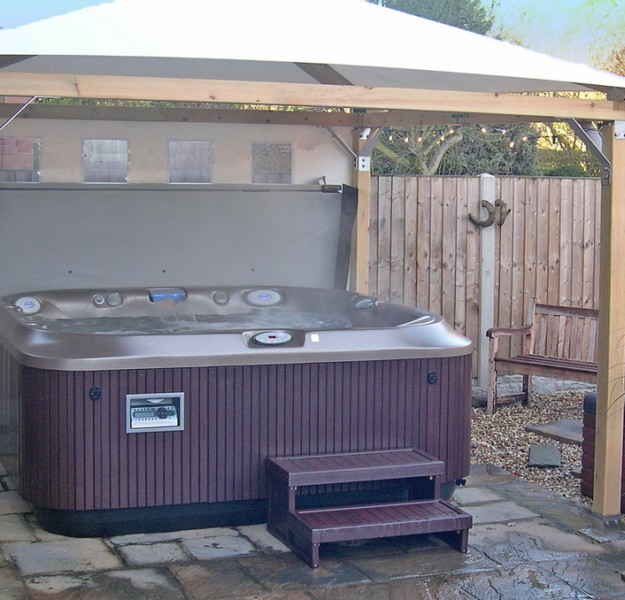 Gazebo Ideas for Hot Tubs 3
