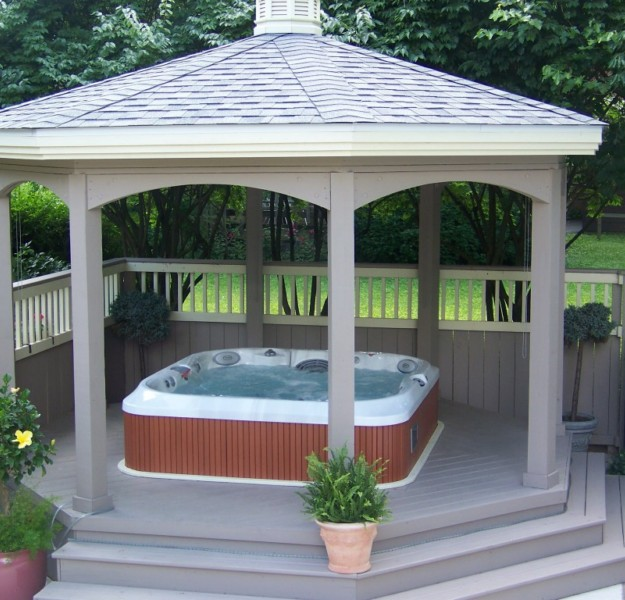 Gazebo Ideas for Hot Tubs 4