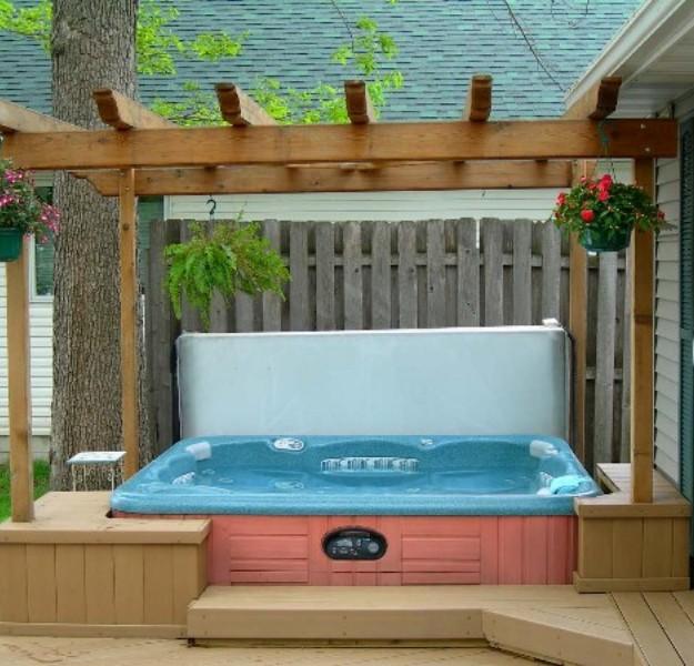 Gazebo Ideas for Hot Tubs 7