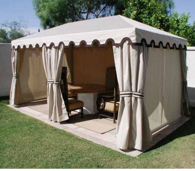 Gazebos Canvas Cover Ideas 7