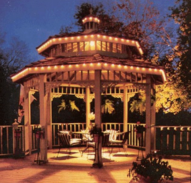 Low Voltage Gazebo Lighting Ideas Pergola Gazebos