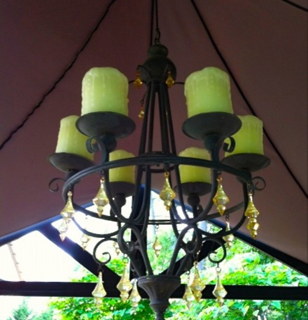 Outdoor Gazebo Lighting Chandelier
