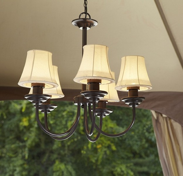 Outdoor Gazebo Lighting Chandelier 2