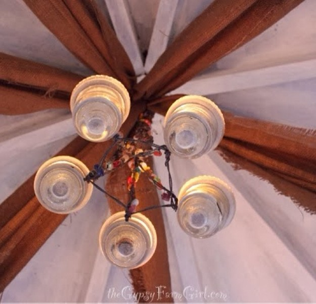 Outdoor Gazebo Lighting Chandelier 6