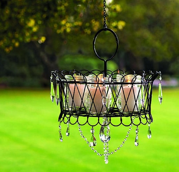 Outdoor Gazebo Lighting Chandelier 8