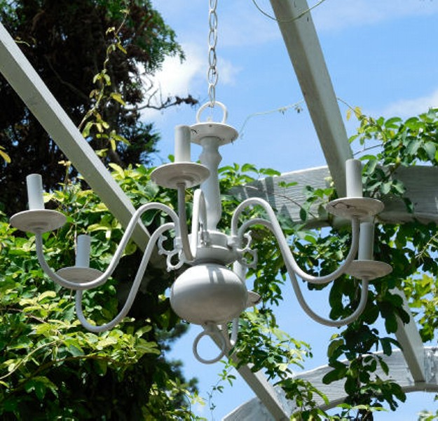 Outdoor Gazebo Lighting Chandelier 9