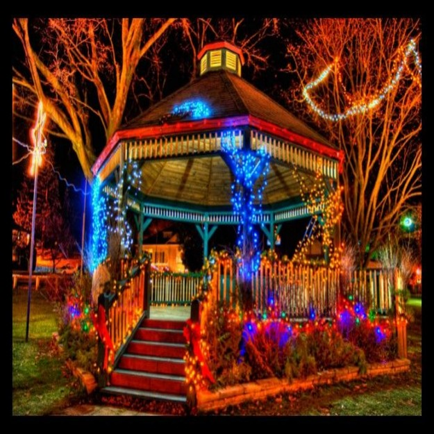 Outdoor Hanging Gazebo Lights 2