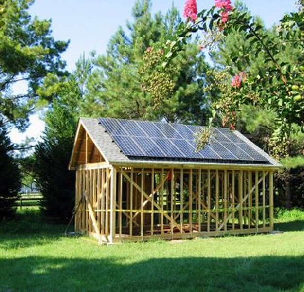 Outdoor Solar Powered Pergola Gazebos