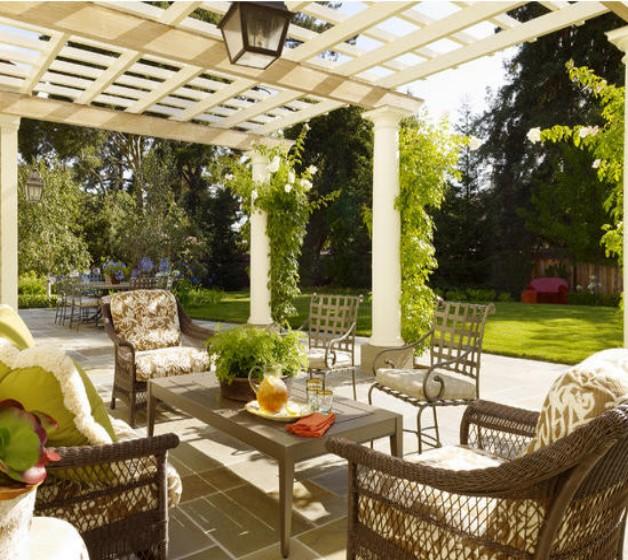 Pergola Garden Furniture Ideas 2