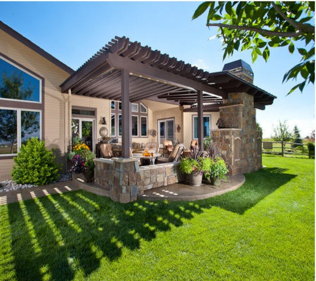 Pergola Garden Furniture Ideas 3