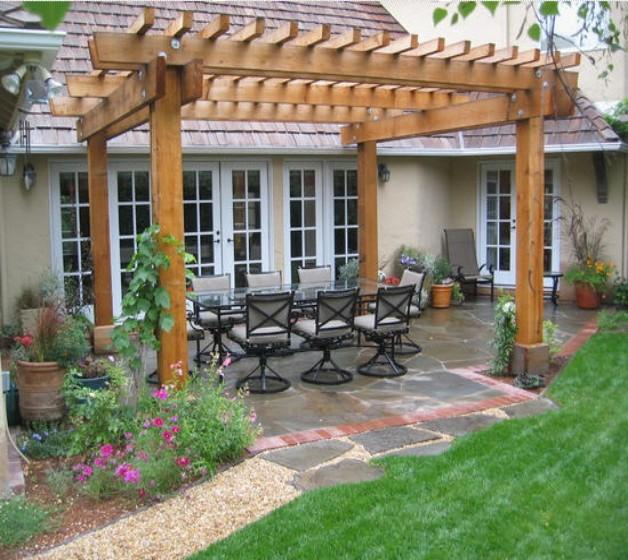 Pergola Garden Furniture Ideas 4