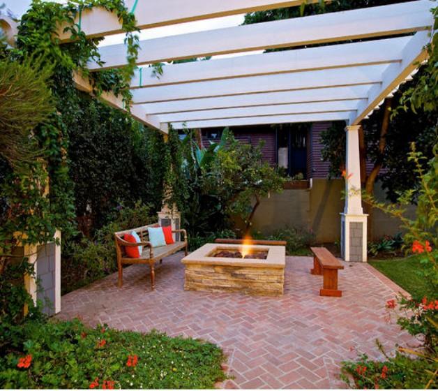 Pergola Garden Furniture Ideas 5
