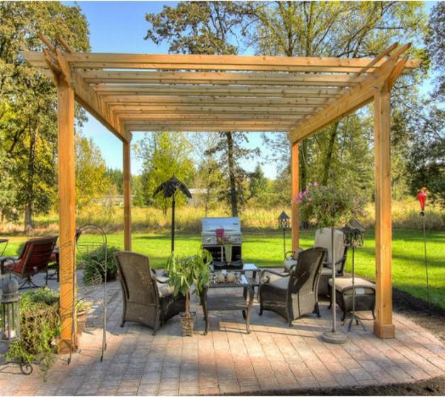 Pergola Garden Furniture Ideas 6