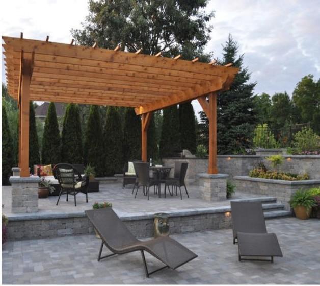 Pergola Garden Furniture Ideas 8