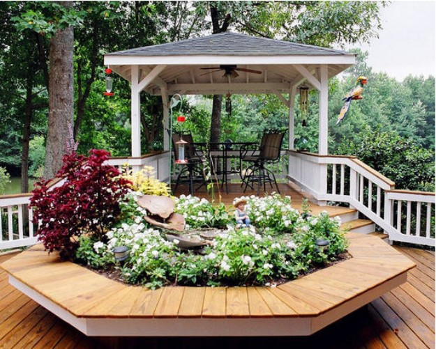 Pergola Gazebo Ideas for Decks 3