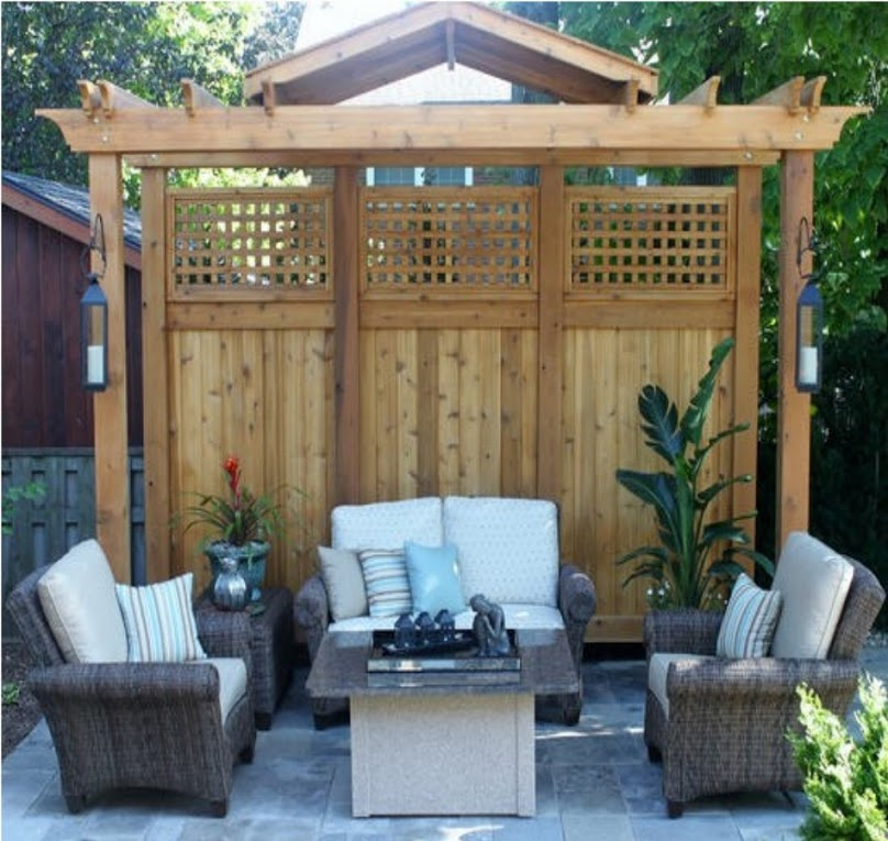Pergola Ideas And Designs For Privacy