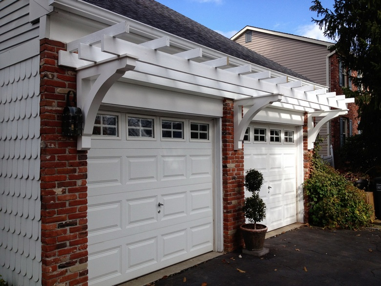 Pergola Over Garage Idea
