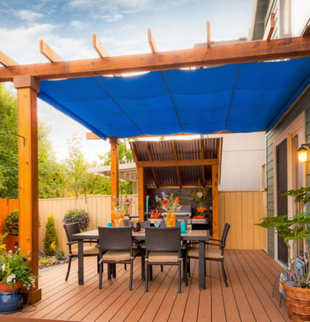 Pergola Rain Covers Gazebos