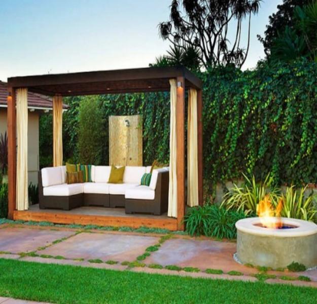 Pergola Sofa Ideas 9