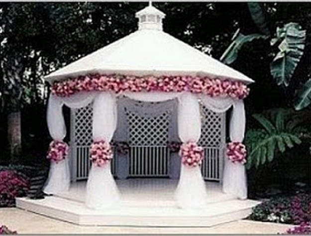 Pergola Wedding Designs 11