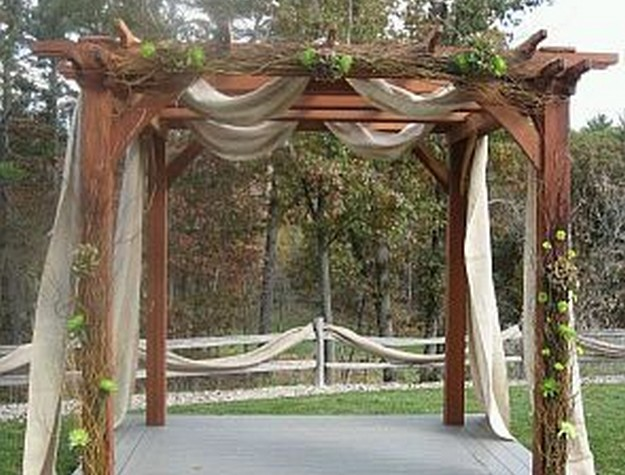 Pergola Wedding Designs 12