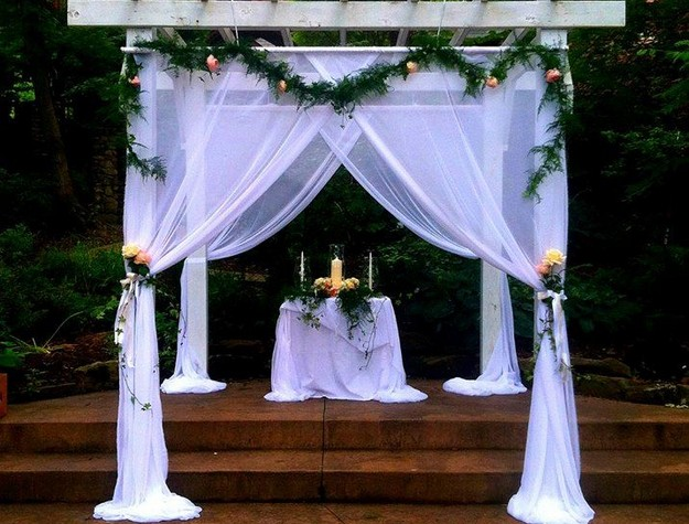 Pergola Wedding Designs 13