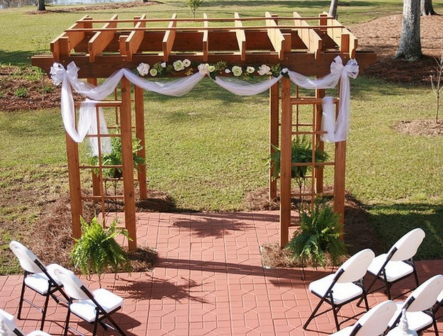 Pergola Wedding Designs 3