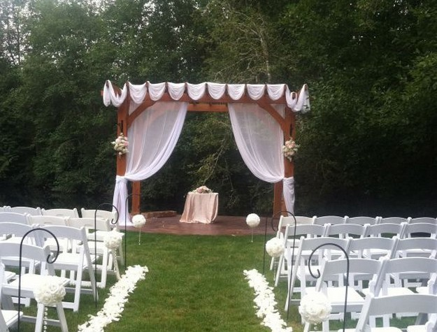 Pergola Wedding Designs 6