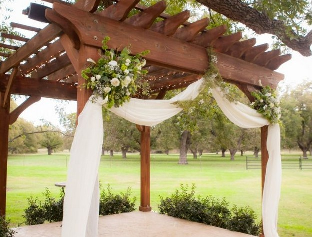 Pergola Wedding Designs 8