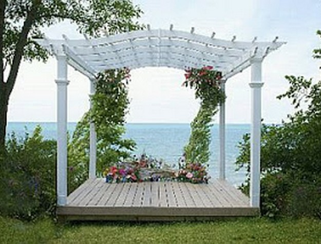 Pergola Wedding Designs 9
