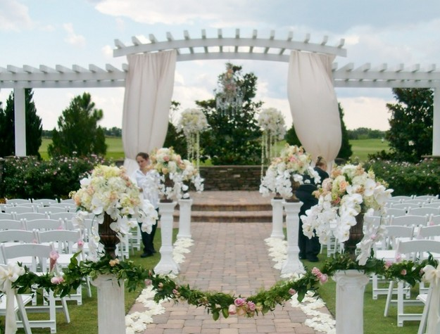 Pergola Wedding Designs