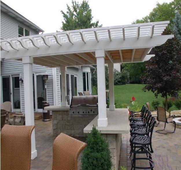 Solid Roof Pergola Plans Gazebos