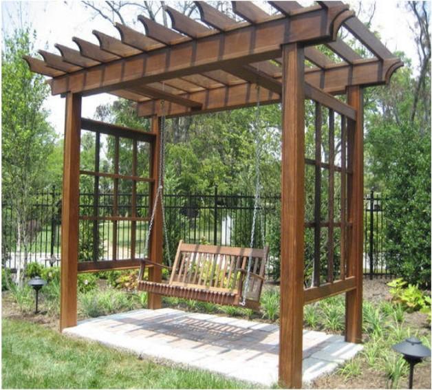 Arbor Swing Set Plans 3