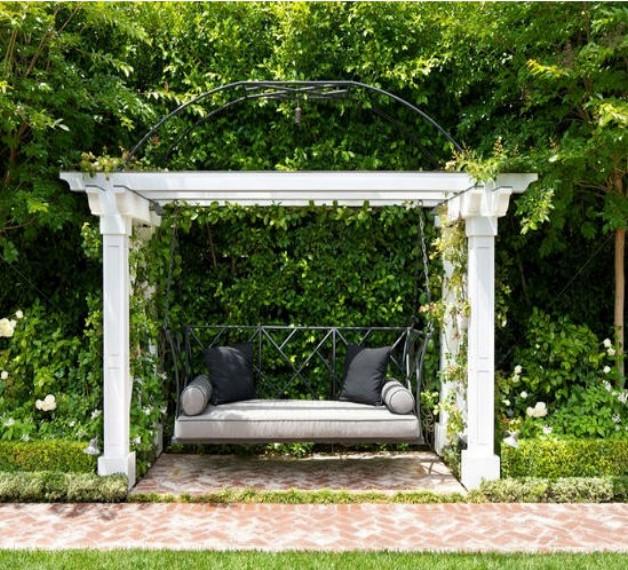 Pergola Bench Seat Designs 2