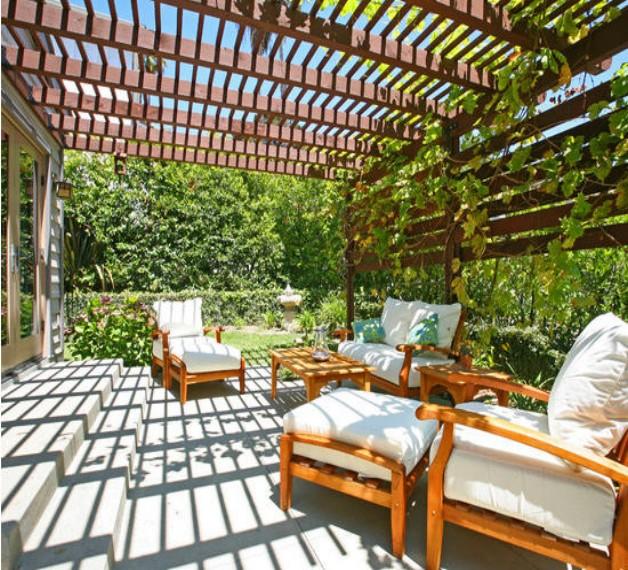 Pergola Chair Designs 7