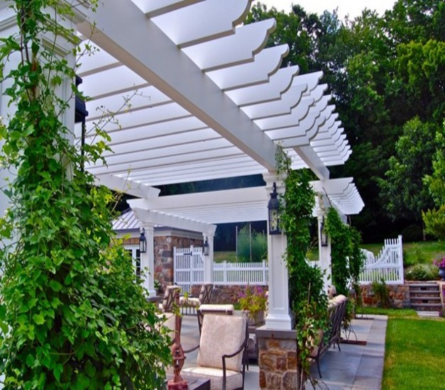 Pergola End Cut Designs 10