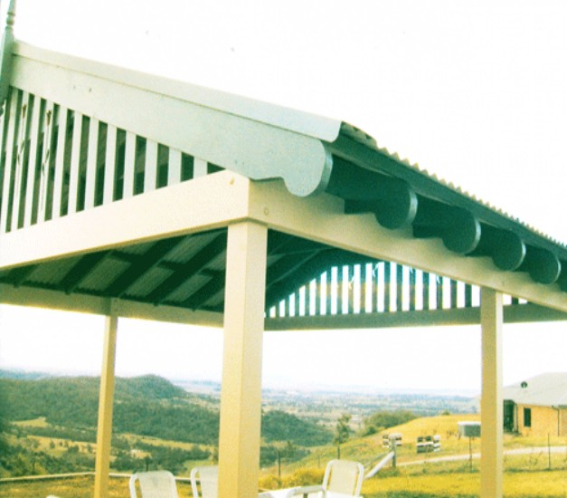 Pergola End Cut Designs 12