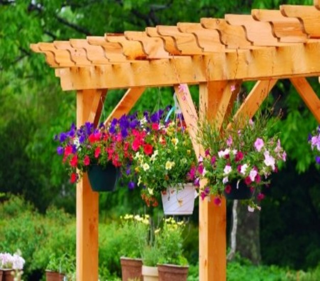 Pergola Joist Designs: Pergola End Cut Designs