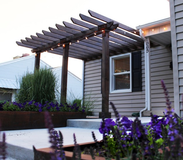 Pergola End Cut Designs 3