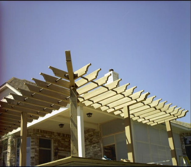 Pergola End Cut Designs 4