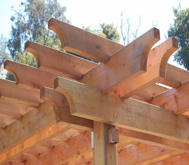 Pergola End Cut Designs 8