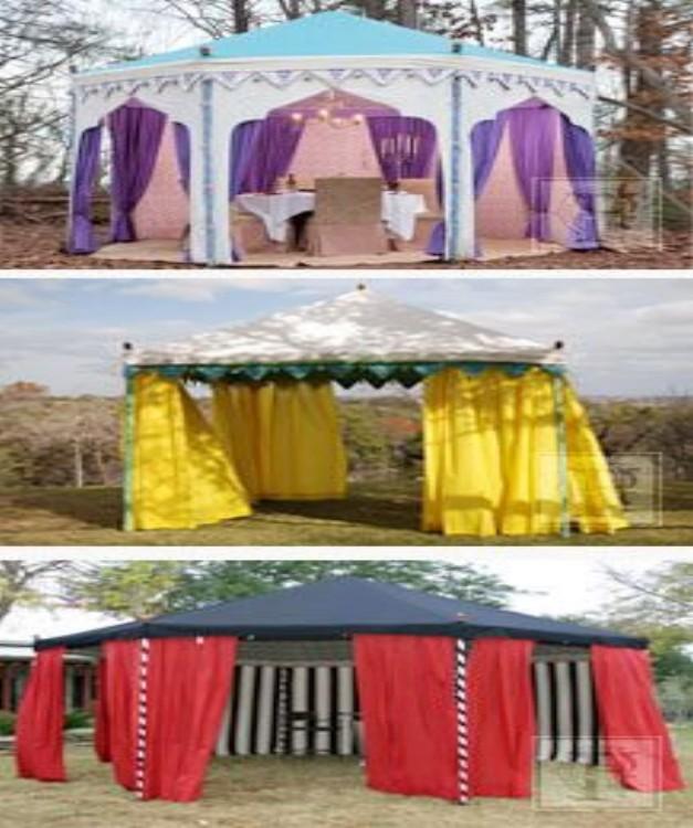 Pergola Tent Ideas 1