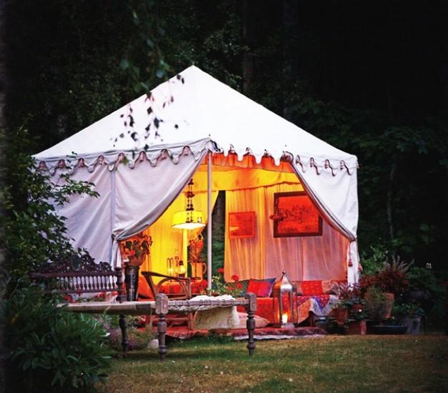 Pergola Tent Ideas 7