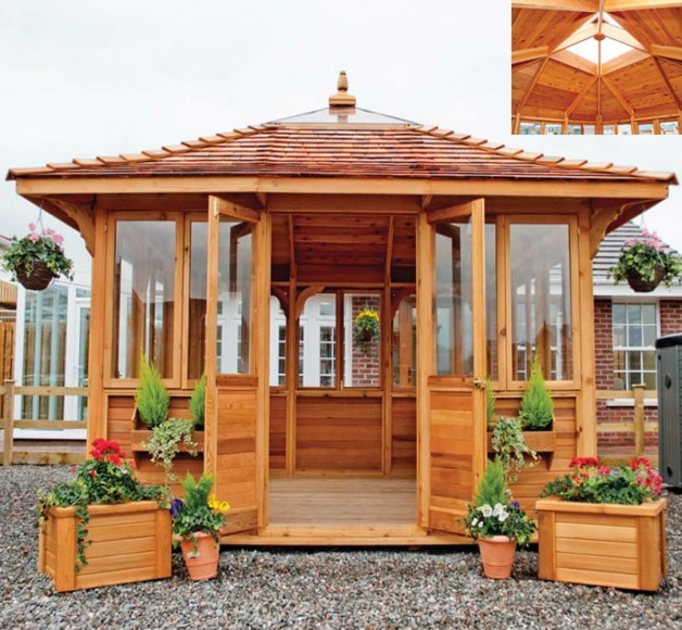 Rectangular Gazebo Plans Pergola Gazebos