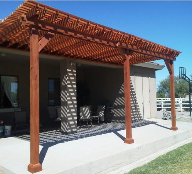 Redwood Pergola Designs 1